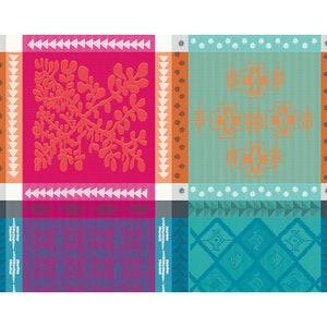 """Mille Pueblo Fiesta Jacquard Placemat 16""""x20"""", 100% Cotton Image"""