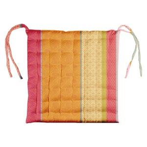Mille Saris Pendjab Chair Cushion, Coated Cotton