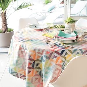 Mille Twist Pastel Jacquard Tablecloth