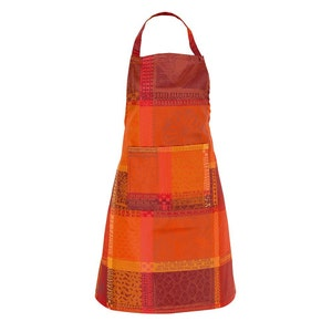 Mille Wax Ketchup Apron, Coated Cotton