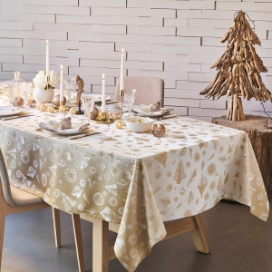 "Mille Merry Or Tablecloth 61""x102"", 100% Cotton"