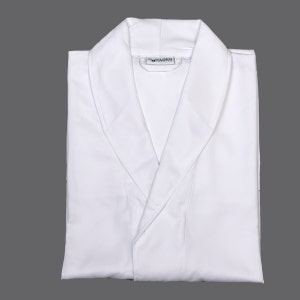 Mutsu White Microfiber Robe