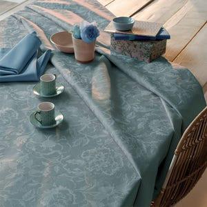 Mille Charmes Bleu Louis XVI Tablecloth