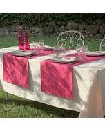 Mille Charmes Ecru De Blanc Tablecloth