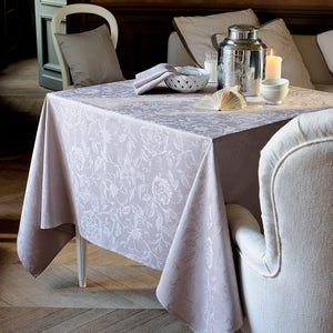 Mille Charmes Taupe Tablecloth