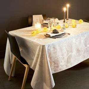 Mille Isaphire Parchemin Tablecloth