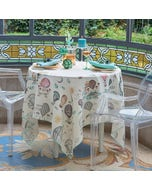 Montgolfieres Vintage Tablecloth