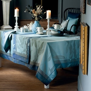 """Livia Crepuscule Tablecloth 61""""x61"""", 100% Cotton"""
