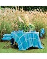 Mille Gardenias Lagon Tablecloth