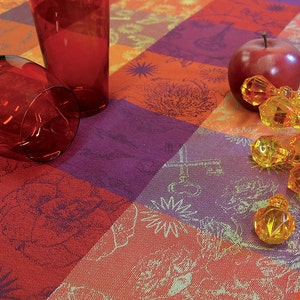 Mille Alcees Feu Tablecloth