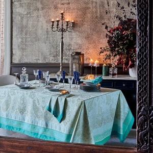 Pondichery Lagon Tablecloth
