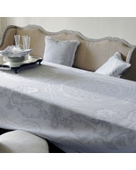 """Soubise Albatre Tablecloth 68""""x68"""" Green Sweet Stain Resistent"""