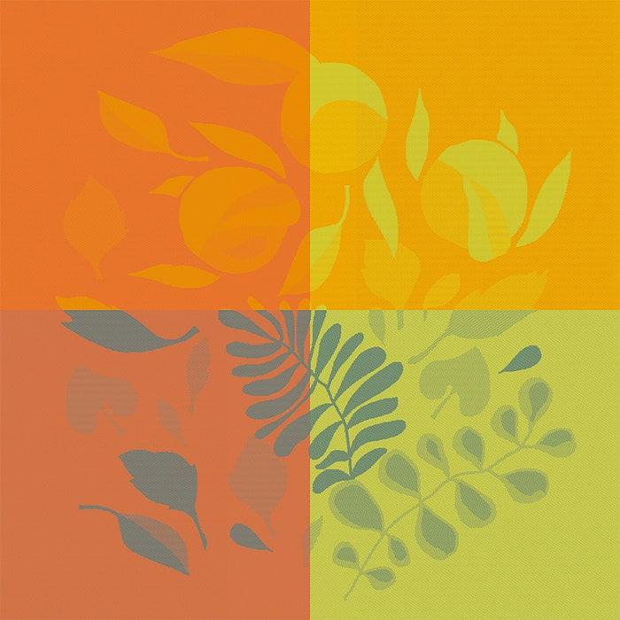 Orange Festival Citrus Jacquard Napkin