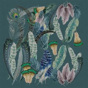 Panache Canard Napkin, Cotton-Linen blend Image