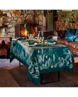 Panache Canard Tablecloth, Cotton-Linen blend Image