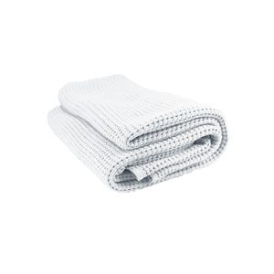 "Santorin Blanc Bed Throw, 51""x67"""
