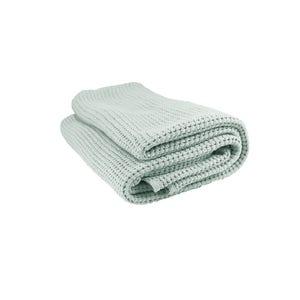 "Santorin Jade Bed Throw, 51""x67"""