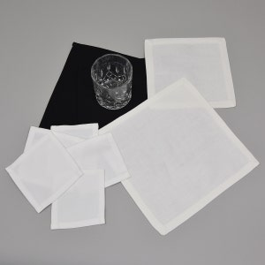 Cocktail Napkin, 100% Polyester