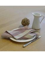 """Foresti Multicolor Napkin 22""""x23"""", 100% Cotton, Set of 4"""