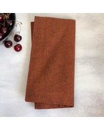 """Recycled Cotton Rust Napkin 20""""x20"""", 100% Cotton, Set of 4"""