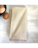 "Recycled Cotton Sand Napkin 20""x20"", 100% Cotton, Set of 4"