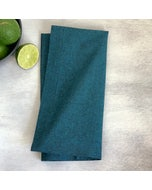 Recycled Cotton Teal Napkin, 100% Cotton, Set of 4