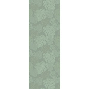"""Mille Evergreen Vert De Gris Tablerunner 61""""x22"""", 100% Cotton"""