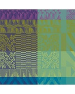 Santa Fe Vert Jacquard Napkin, 100% Cotton Image