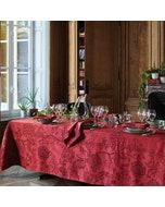 Scarlett Carmin Jacquard Tablecloth