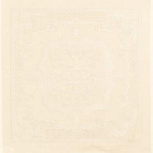 "Beauregard Ivoire Napkin 22""x22"", 100% Cotton"