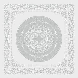 "Comtesse Blanc Napkin 21""x21"", 100% Cotton"