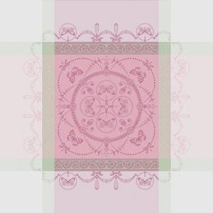 "Eugenie Candy Napkin 21""x21"", 100% Cotton"