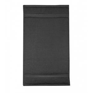 "Elea Anthracite Guest Towel, 12""x20"""