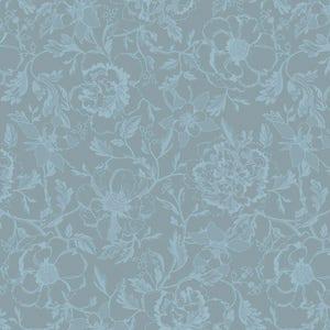 "Mille Charmes Bleu Louis XVI Napkin 22""x22"", 100% Cotton"