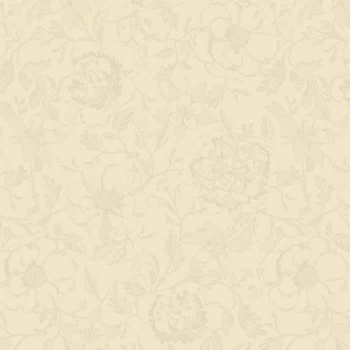 Mille Charmes Ecru De Blanc Napkin, 100% Cotton