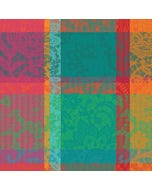 "Mille Dentelles Floralies Napkin 22""x22"", 100% Cotton"