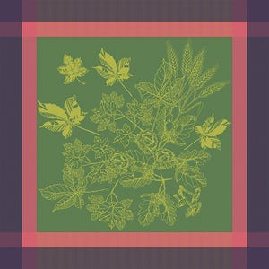 Plaisirs D Automne Muscat Napkin, 100% Cotton