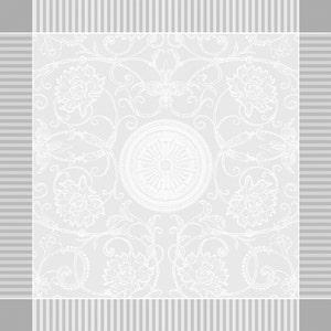 """Apolline White Napkin 21""""x21"""", 100% Cotton"""
