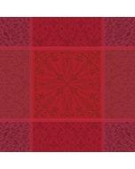 """Cassandre Grenat Napkin 21""""x21"""", 100% Cotton"""