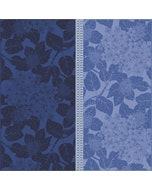 """Hortensias Bleu Napkin 22""""x22"""", 100% Organic Cotton"""
