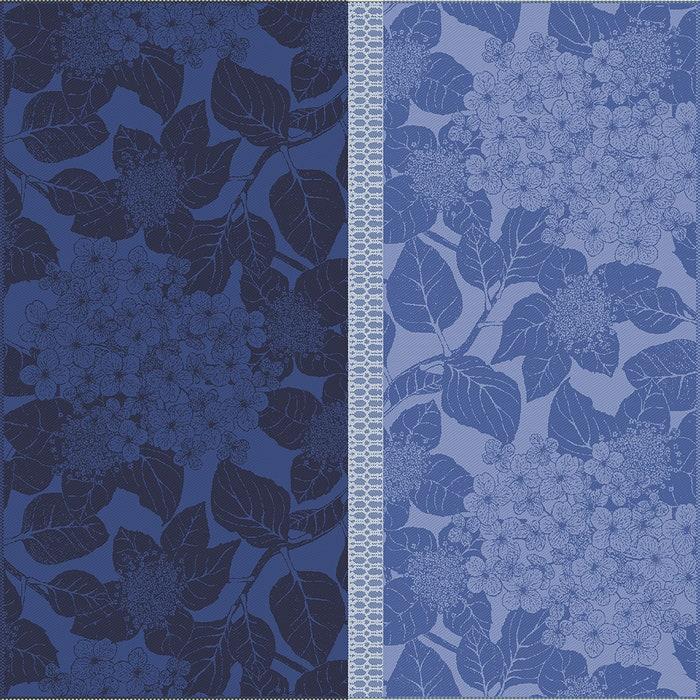 Hortensias Bleu Napkin, 100% Organic Cotton