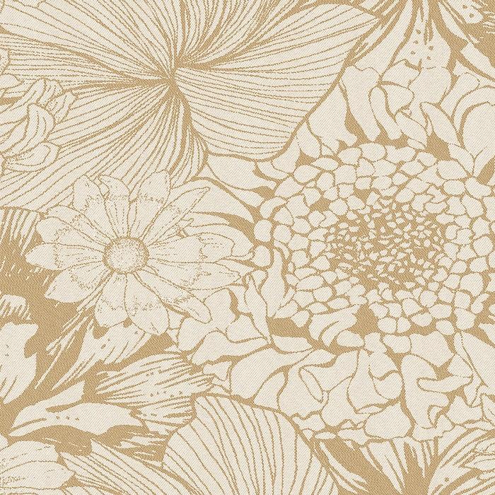 Mille Bloom Naturel Napkin, Cotton-linen blend
