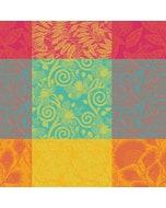 """Mille Buissons Floraison Napkin 22""""x22"""", 100% Cotton"""
