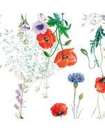 """Mille Coquelicots Floraison Napkin 20""""x20"""", 100% Organic Cotton"""