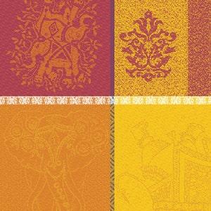 """Mille Holi Epices Napkin 19""""x19"""", 100% Cotton"""