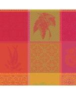 """Mille Tutti Frutti Sangria Napkin 22""""x22"""", 100% Cotton"""
