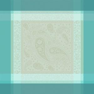 """Pondichery Lagon Napkin 21""""x21"""", 100% Cotton"""