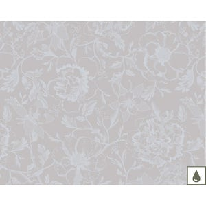 "Mille Charmes Nacre Placemat 16""x20"", Coated Cotton"