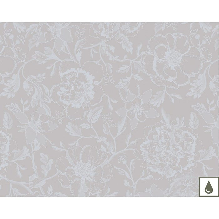 Mille Charmes Nacre Placemat, Coated Cotton