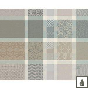 Mille Ladies Argile Placemat, Coated Cotton